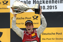 Podium: race winner Jamie Green, Audi Sport Team Rosberg Audi RS 5 DTM