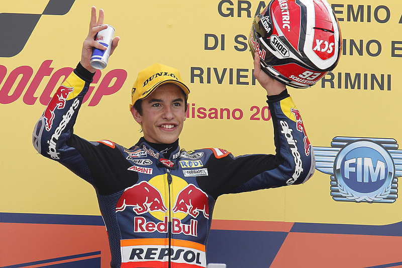 El ganador, Marc Márquez