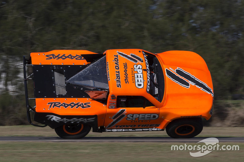 Robby Gordon in seinem Super-Truck