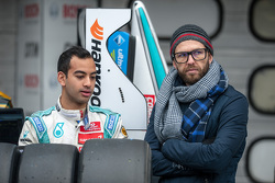 Nabil Jeffri, Motopark, Dallara Volkswagen, mit Trainer Chris van der Drift