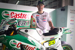 Cal Crutchlow with new Castrol livery