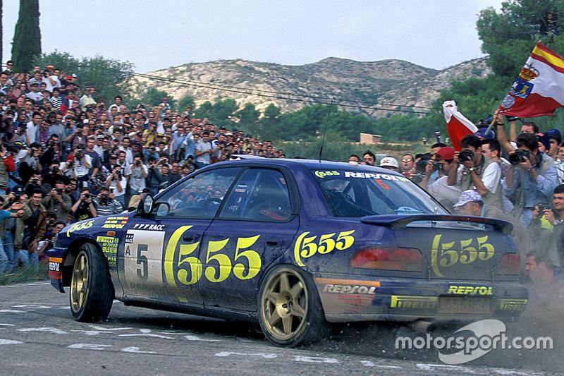 Carlos Sainz und Luis Moya, Subaru World Rally Team