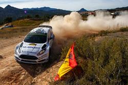 奥特·塔纳克与Molder Raigo,M-Sport车队福特Fiesta WRC