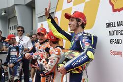 Dani Pedrosa, Repsol Honda Team, Marc Marquez, Repsol Honda Team e Valentino Rossi, Movistar Yamaha MotoGP