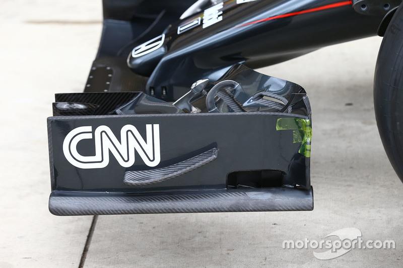 McLaren MP4-30, Detail