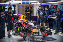 Red Bull Racing RB11 von Daniil Kvyat, Red Bull Racing