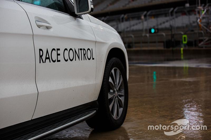 Race Control vehicle