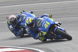 Aleix Espargaro, Team Suzuki MotoGP e Maverick Viñales, Team Suzuki MotoGP