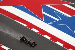 Pastor Maldonado, Lotus F1 E23 en la sesión de calificación