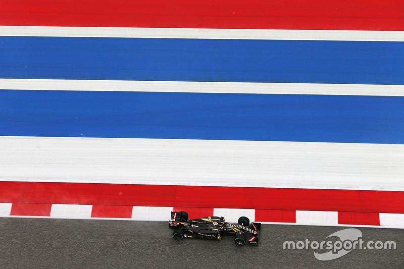 Пастор Мальдонадо, Lotus F1 E23 під час кваліфікації