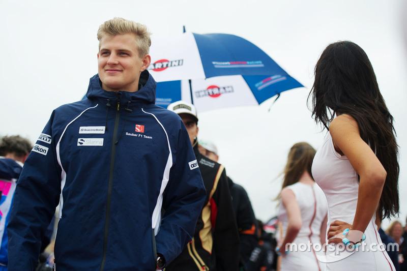 Маркус Ерікссон, Sauber F1 Team на параді пілотів