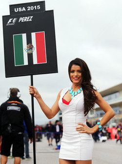 Грид-гёрл для Серхио Переса, Sahara Force India F1 VJM08