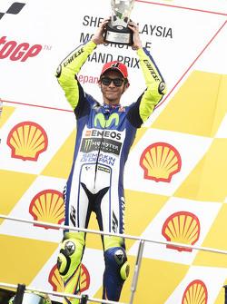 Podium: tercer lugar, Valentino Rossi, Yamaha Factory Racing