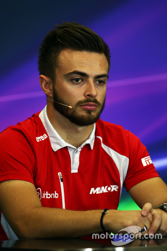 Will Stevens, Manor Marussia F1 Team in de FIA persconferentie