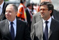 Enrique Peña Nieto, Presidente de México y Jean Todt, Presidente de la FIA