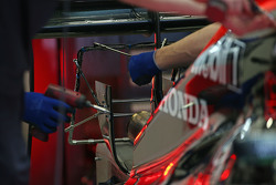 Sensor en el escape del McLaren MP4-30