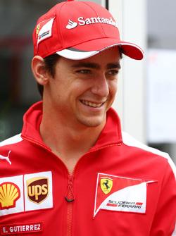 Естебан Гутьєррес, Ferrari Тестовий та резервний гонщик