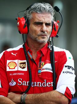 Маурицио Арривабене, руководитель Ferrari Team