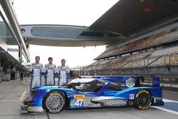 KCMG车队三位车手:马修·豪森、理查德·布拉德利、尼克·坦迪