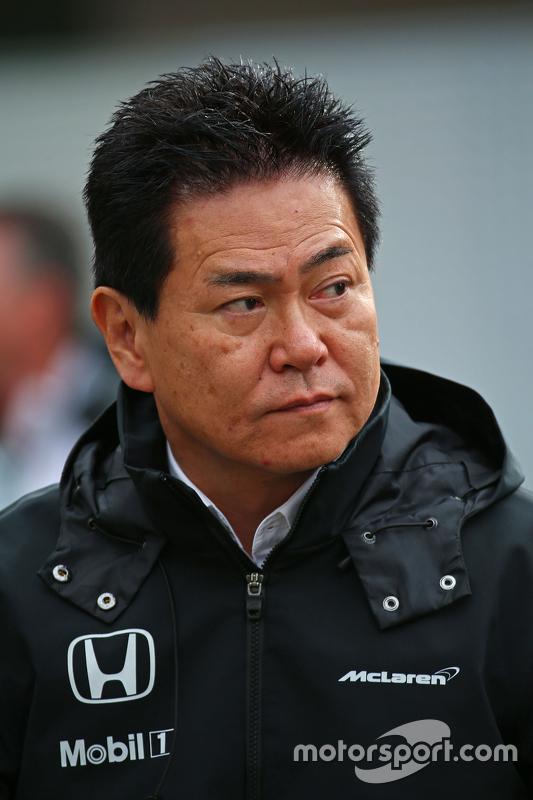 ياسوهيسا آراي، مدير قسم رياضة السيارات في هوندا