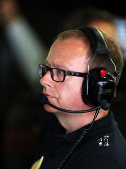 Mark Slade, Lotus F1 Team ingenieur