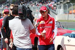 Себастьян Феттель, Ferrari на параде пилотов