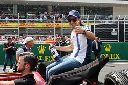 Felipe Massa, Williams op de rijdersparade