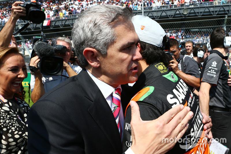 سيرجيو بيريز، فورس إنديا على شبكة الإنطلاق