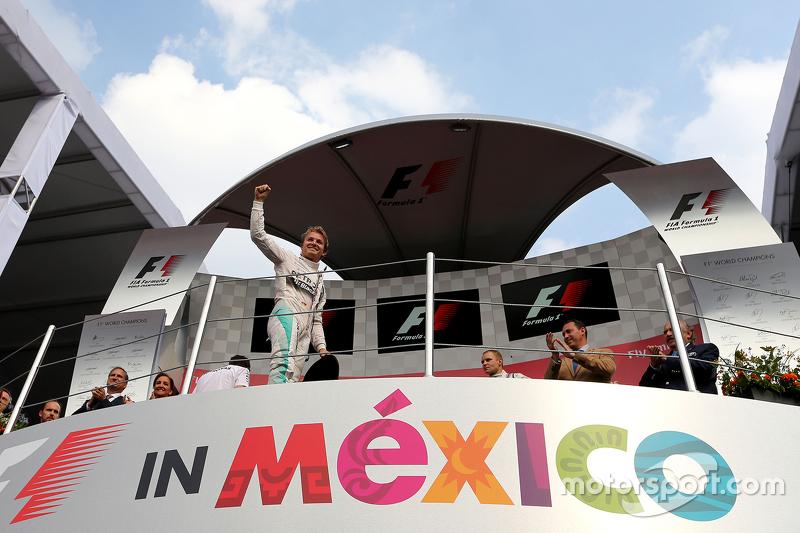 Podium: 1. Nico Rosberg, Mercedes AMG F1 Team