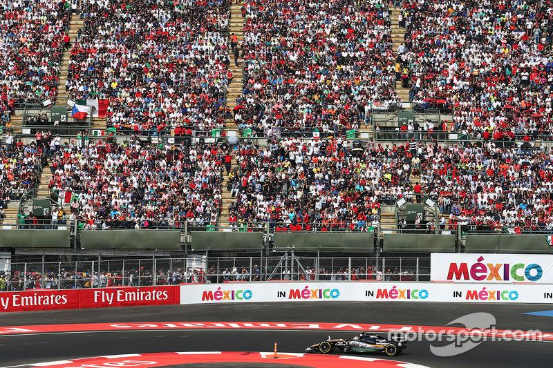 Гран При Мексики, 1 ноября. Серхио Перес