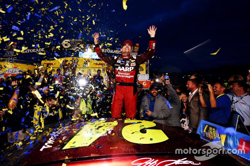 Ganador Jeff Gordon, Hendrick Motorsports Chevrolet