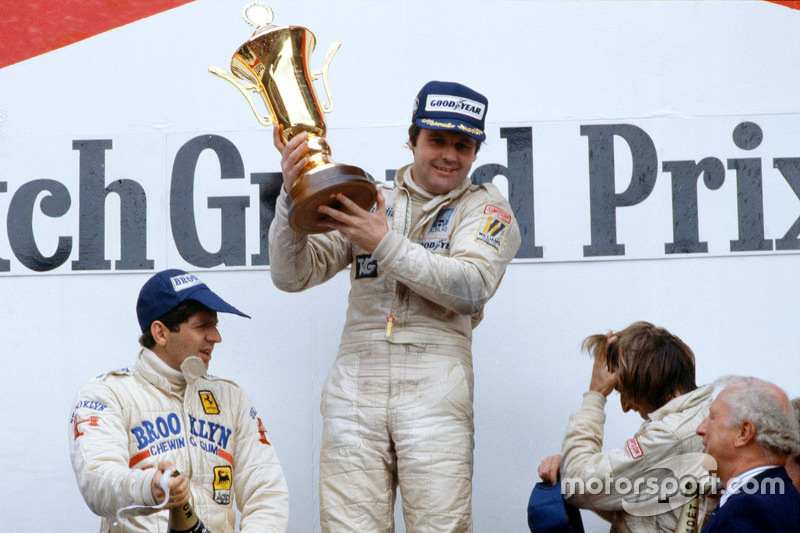 Podium du GP des Pays-Bas 1979