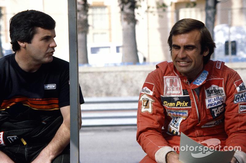 Alan Jones dan Carlos Reutemann, Williams