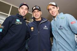 Helder Rodrigues, Carlos Sousa and Ruben Faria