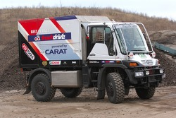 Team Fleetboard Dakar: Mercedes Unimog