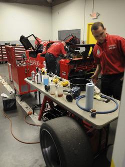 Bob Stallings/ Riley-Matthews team members at work