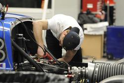 RVO Motorsports team member at work