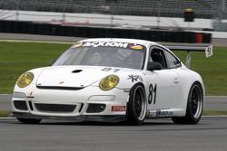 #81 Synergy Racing Porsche GT3 Cup: Steve Johnson, Patrick Huisman, Robert Doornbos, Richard Lietz