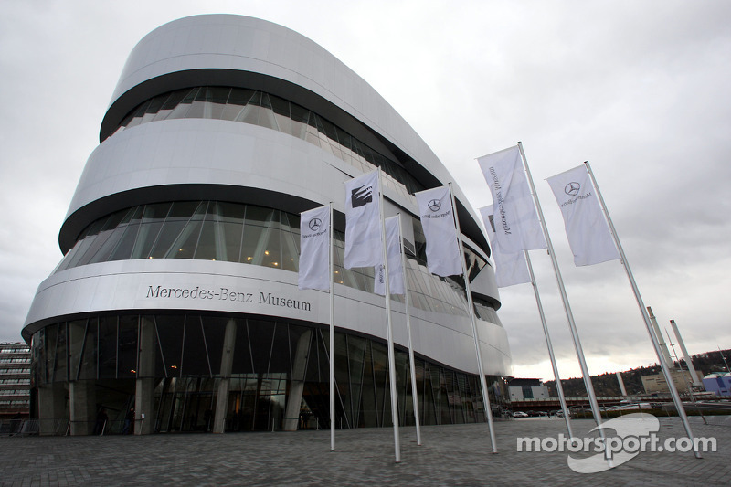 The Mercedes-Benz Museum in Stuttgart