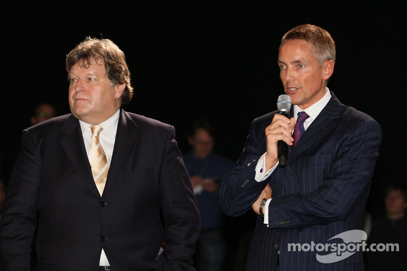 Norbert Haug, Mercedes, Motorsport chief, Martin Whitmarsh, McLaren, Chief Executive Officer