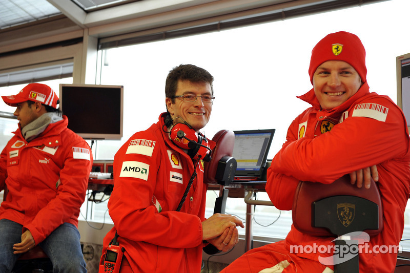 Felipe Massa, Chris Dyer ve Kimi Raikkonen