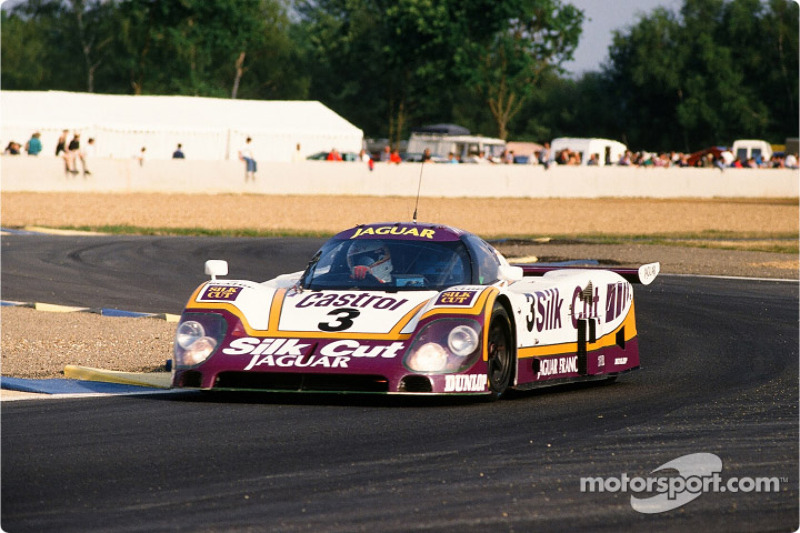 Silk Cut Jaguar Jaguar XJR9 LM : Davy Jones, Jeff Kline, Derek Daly