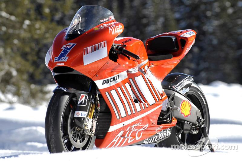 2008: Ducati Desmosedici GP8