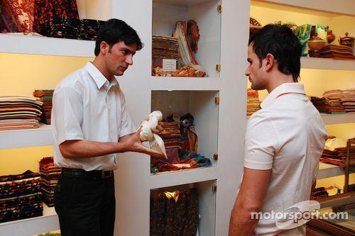 Force India F1 pilot duyurusu, Mumbai, Hindistan