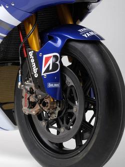 Detalle de la Yamaha YZR-M1