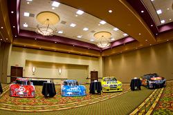 Chip Ganassi Racing with Felix Sabates: the Lexus Riley Grand Am cars and Dodge NASCAR Sprint Cup cars