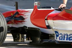 Jarno Trulli, Toyota Racing, TF108, detail
