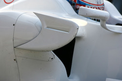 Jenson Button, Honda Racing F1 Team, RA108, detail