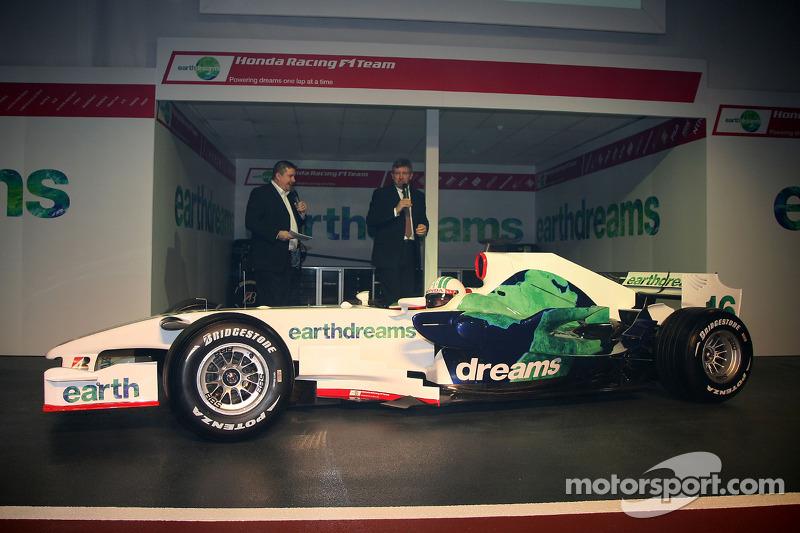 Ross Brawn Team Principal, Honda Racing F1 Team, Alexander Wurz, Test Driver, Honda Racing F1 Team