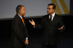 Peter Winsor interviews Carlos Ghosn, Chairman of Renault